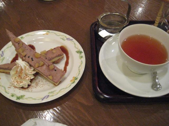 むらさき芋のベイクドチーズケーキ~小江戸浪漫~
